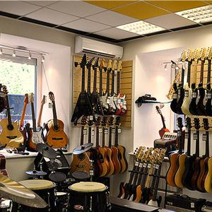 Музыкальные магазины Верховья